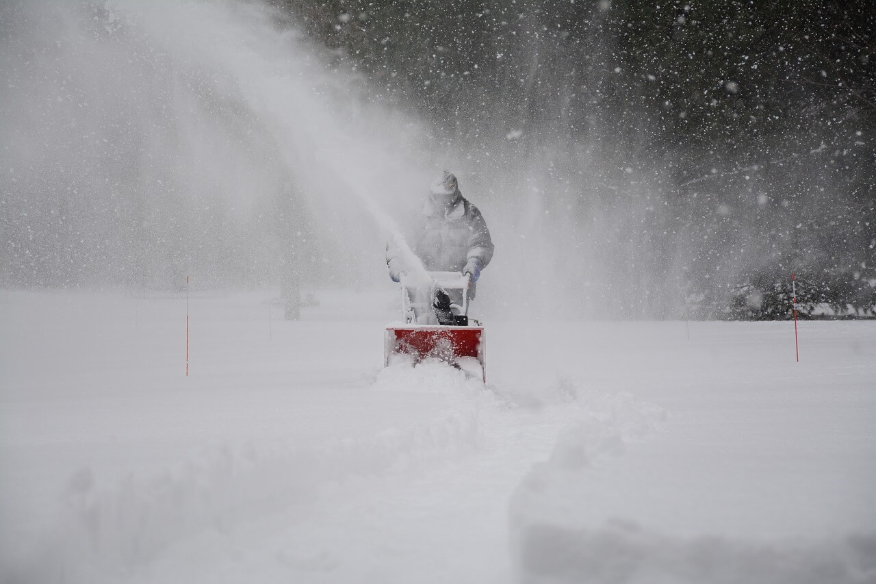 Snow plowing and commercial and residential  snow clearing services by By The Yard Landscaping and Lawn Care in Little Egg Harbor serving  Mystic Islands, Tuckerton, New Gretna, Manahawkin and Barnegat and surrounding areas.